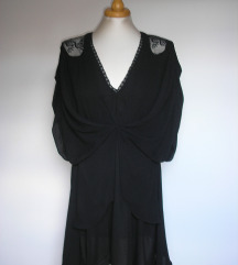 ZARA crna haljina tunika