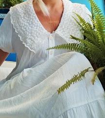 Zara duga haljina s čipkom