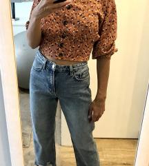STRADIVARIUS straight ripped jeans, 36