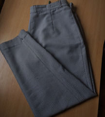 Poslovne hlače s pepita uzorkom
