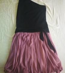 Kratka haljina na jedno rame Bellezza