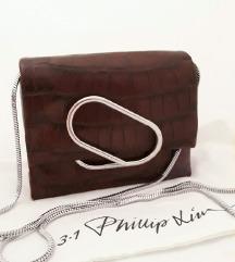 3.1. PHILLIP LIM smeđa kožna torbica