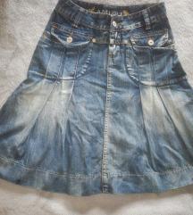 Traper suknja 34