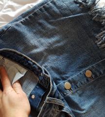Jeans suknja! L