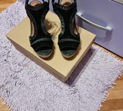 Sandale na punu petu Tommy Hilfinger Novo SNIŽENO
