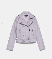 Zara kožna jakna M