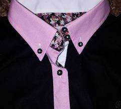 Crna košulja sa detaljima M/L