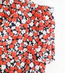 H&M volan majica/bluza na jedno rame NOVA