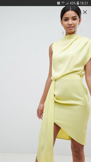 haljina žuta