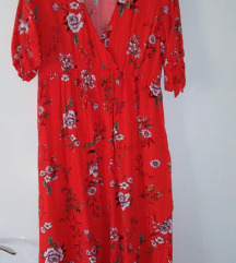 proljetna crvena haljinica