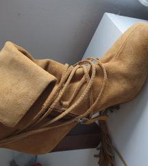 Proljetno jesenske Čizme Zara