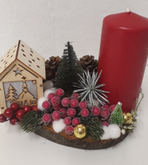 Unikatni ukras za Božić koji svijetli