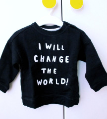 H&M majica - sweatshirt 74