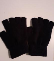 Tamnoplave rukavice s otvorenim prstima