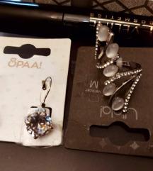 Nausnice, prsten i ruz, LOT 100kn