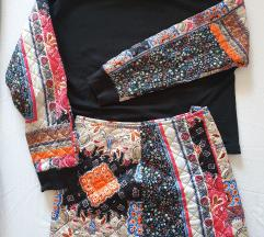 Zara komplet minica i majica