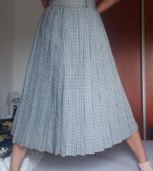 Vintage pepita suknja