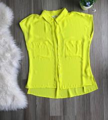 Mexx neon žuta bluza - Kratki rukavi