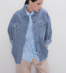 ZARA Oversize jakna od samta