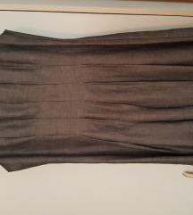 Siva lanena haljina NEBO