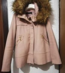 Zara rozi kaput ***SNIŽEN 190 kn