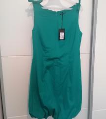 Zelena haljina *s etiketom*