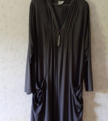 Haljina kaftan s kapuljačom