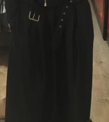 Kozna midi suknja univerzalna