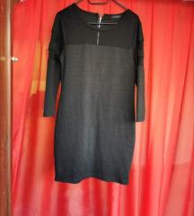 sivo crna haljina