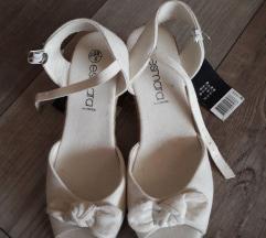 Nove bijele spagerice sandale 38