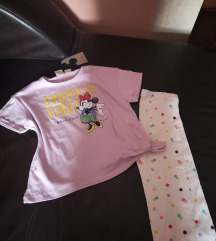 Zara NOVA majica i H&M tajice 122