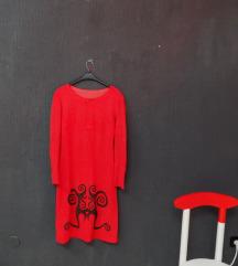 maternity ► tribal crvena haljina