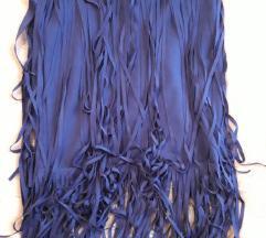 Nova plava suknja s resama!