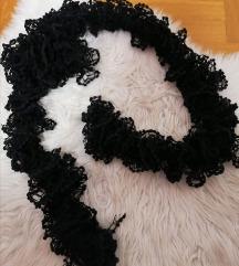 NOVI crni šal