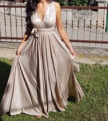 Predivna zlatna haljina Gau Moreno
