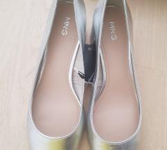 Mango srebrne cipele