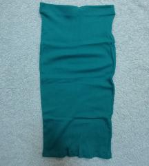 Uska midi suknja (pamuk)