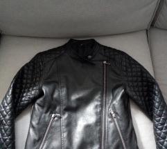 Kožna jakna Sisley  8-9god eko koža