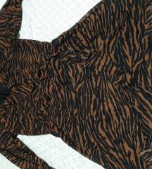 Hm crno smeđa haljina 40-42