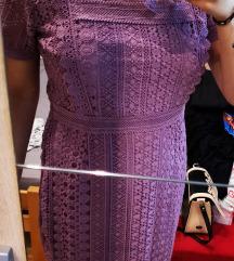 Reserved ljubičasta haljina