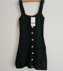 Nova Zara haljina od tvida s etiketom