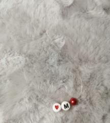 Handmade nevidljiva ogrlica