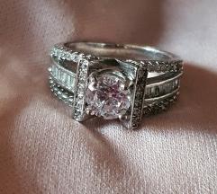 Prsten 925,cirkoni