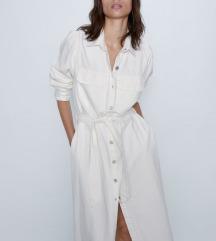 Zara jeans haljina s pt