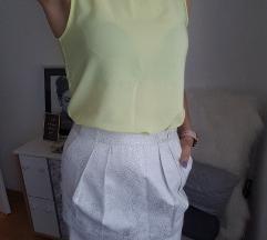 Zara suknjica i h&m bluza