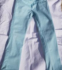 Keper duge hlače svijetlotirkizne vel 128