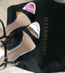 Sandale na visoku petu Cecconello
