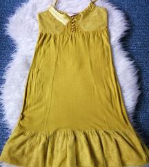 Miss Selfridge žuta haljina
