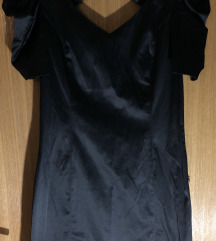 Crna haljina - otvorena leđa