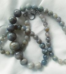 Ogrlica od labradorit perli, sa poštarinom